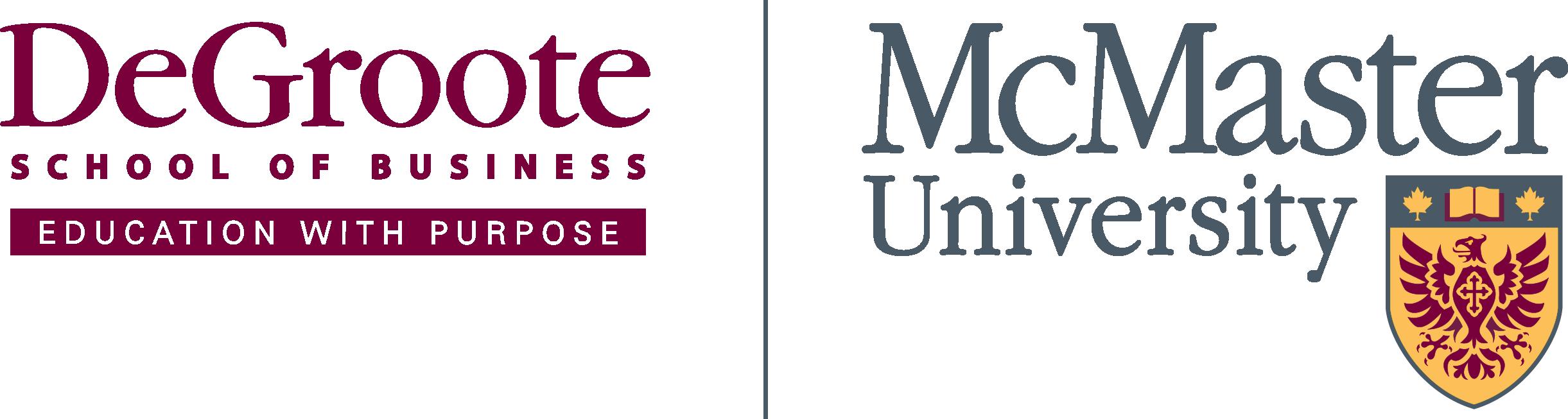 DeGroote McMaster Logo