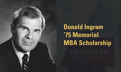 Donald Ingram MBA Memorial Scholarship
